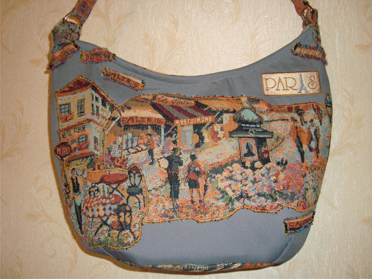 Гобеленовая сумка